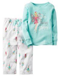 Carter's Dievčenské pyžamo s anjelom - farebné, 86 cm