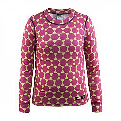Craft Dievčenské funkčné tričko Mix and Match - ružovo-zelené