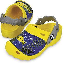 Crocs Chlapčenské sandále Submarine Burst / Light grey, EUR 27/29