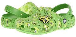 Crocs Detské sandále Crocs Chameleons Alien - zelené, EUR 19/21