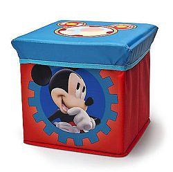 Delta Detský taburet s úložným priestorom Mickey Mouse