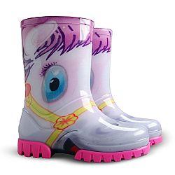 Demar Dievčenské gumáky Twister Print HA Pony, EUR 32/33