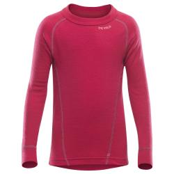 Devold Dievčenské termo tričko Duo Active - ružové, 4 roky