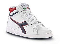 Diadora Chlapčenské členkové tenisky Game High JR 158868 - biele, EUR 33,5
