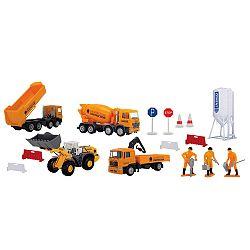 Dickie Sada stavebných áut s príslušenstvom