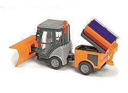 Dickie Upratovací voz s príslušenstvom - oranžový