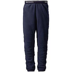 Didriksons1913 Detské fleecové nohavice Monte - tmavo modré, 140 cm