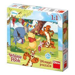 Dino Puzzle Medvedík Pú
