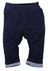 Dirkje Chlapčenské zateplené nohavice - tmavo modré, 86 cm