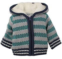 Dirkje Chlapčenský pruhovaný sveter - farebný, 86 cm