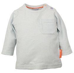 Dirkje Detské prúžkované tričko - svetlo modré, 62 cm