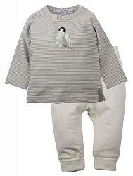 Dirkje Dievčenský dvojkomplet trička a legín - biela, 62 cm