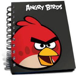 Disney Blok A5 v plastovom obale Angry Birds
