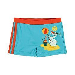 Disney Brand Chlapčenské plavky s obrázkom - modré, 110 cm