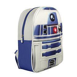 Disney Brand Chlapčenský batoh Star Wars - bielo-modrý