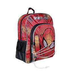 Disney Brand Chlapčenský batôžtek Spiderman - červený
