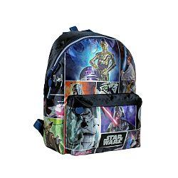 Disney Brand Chlapčenský batôžtek Stars Wars - tmavomodrý