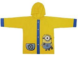 Disney Brand Detský kabátik do dažďa Mimoni - žltý, 116 cm