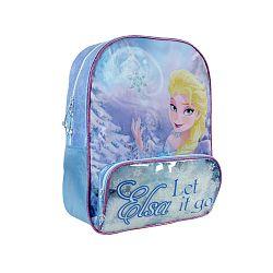 Disney Brand Dievčenské batôžtek Frozen - svetlo modrý