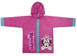 Disney Brand Dievčenské kabátik do dažďa Minnie - ružový, 116 cm