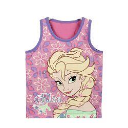 Disney Brand Dievčenské tielko Frozen, 122 cm