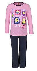 Disney Dievčenské pyžamo Mimoni, 98 cm