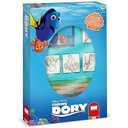 Disney Pečiatky Hľadá sa Dory, box 4 ks