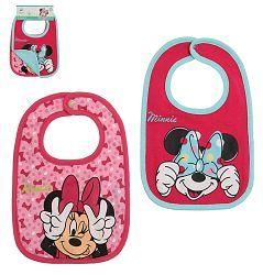 Disney Súprava podbradníkov Minnie - ružový