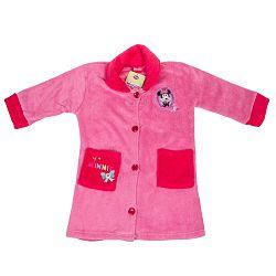 Disney Župan Minnie - svetlo ružový, 98 cm