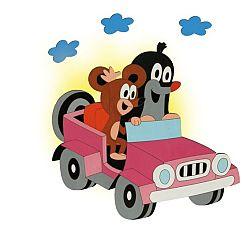 DoDo Lampička Krtko v aute