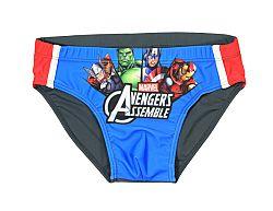 E plus M Chlapčenské plavky Avengers - modro-šedé, 110-116 cm