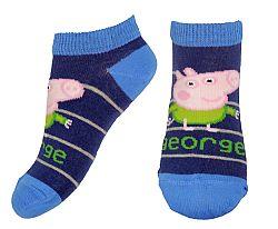 E plus M Chlapčenské ponožky Peppa Pig George, 116 cm