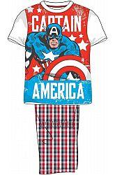 E plus M Chlapčenské pyžamo Avengers - Captain America, 128 cm