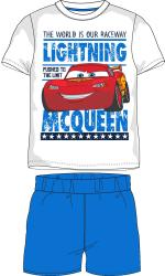 E plus M Chlapčenské pyžamo Cars - svetlo modré, 116 cm