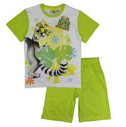 E plus M Chlapčenské pyžamo Kráľ Jelimán - zelené, 128 cm