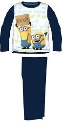 E plus M Chlapčenské pyžamo Mimoni - tmavo modré, 104 cm