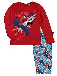 E plus M Chlapčenské pyžamo Spiderman - červené, 116 cm