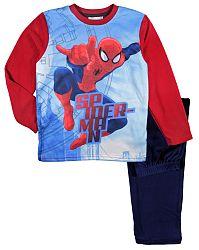 E plus M Chlapčenské pyžamo Spiderman - červeno-modré, 116 cm