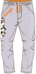 E plus M Chlapčenské tepláky Tučniaci z Madagaskaru - svetlo sivé, 116 cm