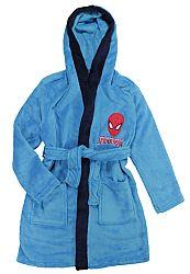 E plus M Chlapčenský župan Spiderman - modrý, 116-122 cm