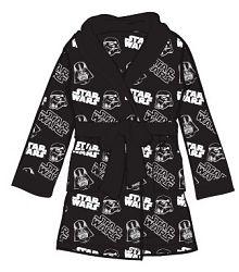 E plus M Chlapčenský župan Star Wars - čierny, 104 cm