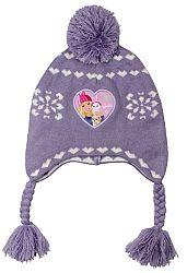 E plus M Dievčenská čiapka Barbie - fialová, 54 cm