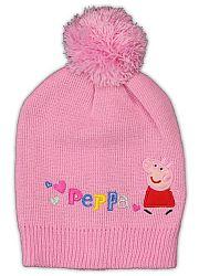 E plus M Dievčenská čiapka Peppa Pig - svetlo ružová