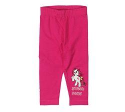 E plus M Dievčenské legíny Sweet Pony - ružové, 68 cm