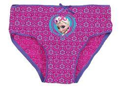 E plus M Dievčenské nohavice Frozen - fialovo-modré, 134 cm