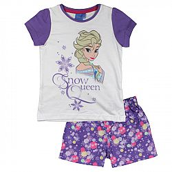 E plus M Dievčenské pyžamo Frozen - fialovo-biele, 104 cm