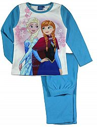 E plus M Dievčenské pyžamo Frozen - modré, 104 cm