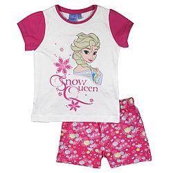 E plus M Dievčenské pyžamo Frozen - ružovo-biele, 98 cm