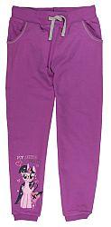 E plus M Dievčenské tepláky My Little Pony - fialové, 122 cm