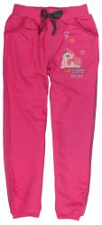 E plus M Dievčenské tepláky My Little Pony - ružové, 128 cm